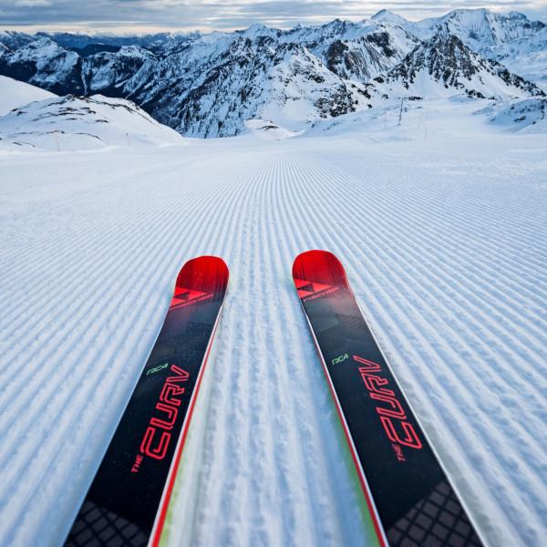 Onderhoud van wintersportmateriaal
